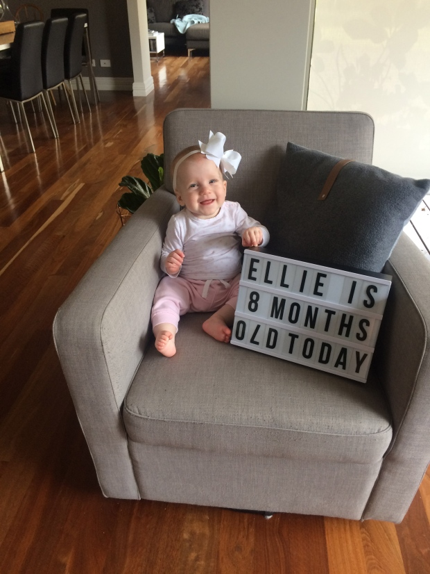 little loves: eloise eight months