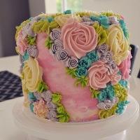 Baking: Flower Garden Cake