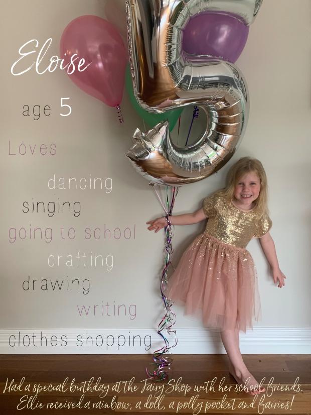 Eloise - FIVE